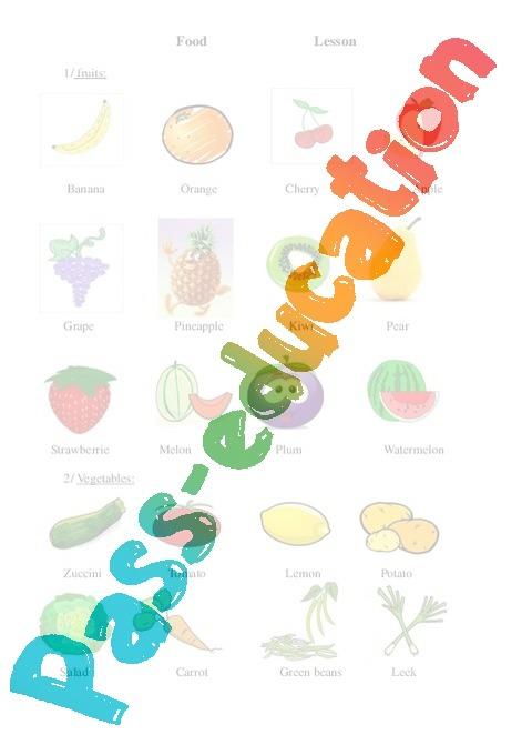 Vocabulaire nourriture anglais hk09 jornalagora for Anglais vocabulaire cuisine