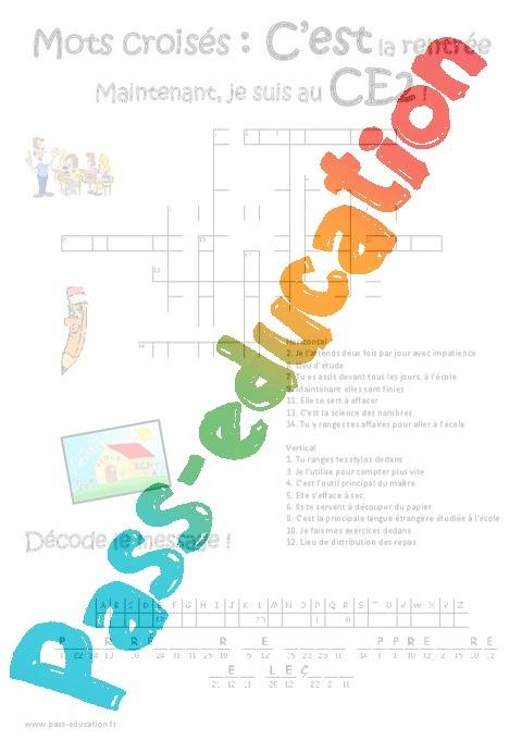 les classes de mots pdf
