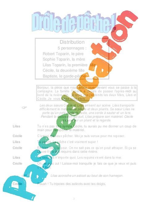 piece de theatre pour eleves de primaire pdf