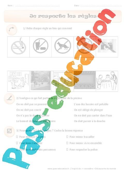 exercice education civique 5eme