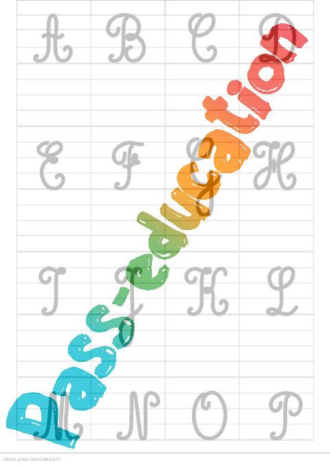 C l bre alphabet en lettre majuscule jt71 aieasyspain - Alphabet majuscule a imprimer ...