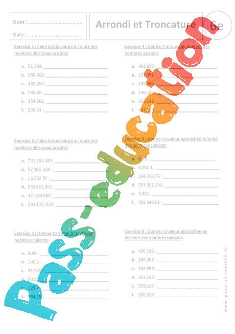 exercices sur nombres complexes pdf