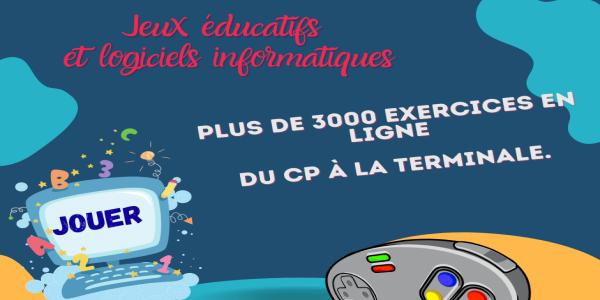 Jeux & logiciels éducatifs - Pass Education