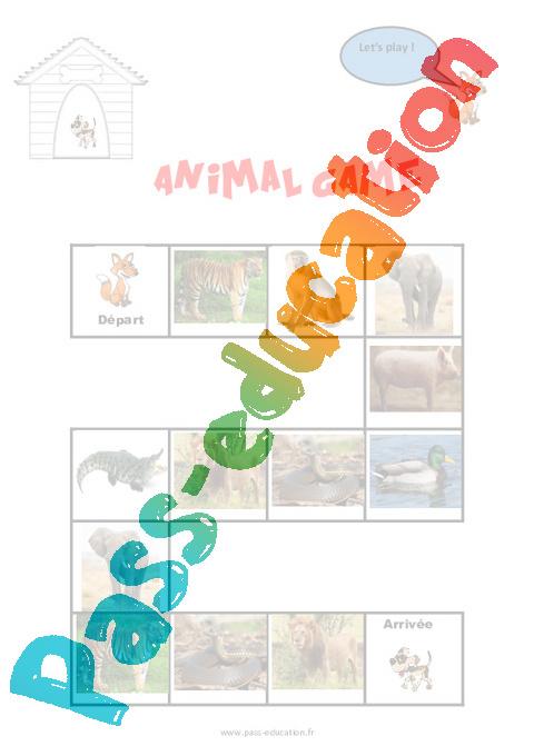 Décrire un animal - Anglais : 2eme Primaire - Pass Education