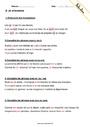 Homophones - Exercices à imprimer : 5eme Primaire - Pass ...