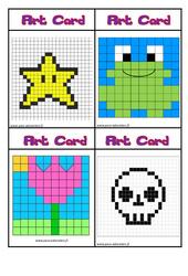 Art card - Arts visuels : 2eme, 3eme Primaire