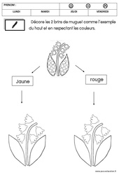 Graphisme - Muguet : 2eme Maternelle - Cycle Fondamental
