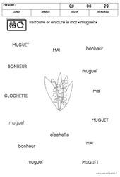 Lecture - Muguet : 2eme Maternelle - Cycle Fondamental