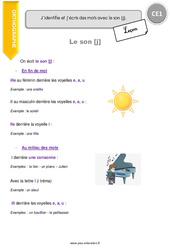 Son [j] - Cours, Leçon : 2eme Primaire