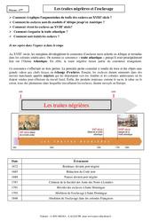 Traites négrières et l'esclavage - Cours - Histoire : 2eme Secondaire