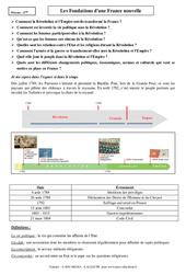 Fondations d'une France nouvelle - Cours - Histoire : 2eme Secondaire