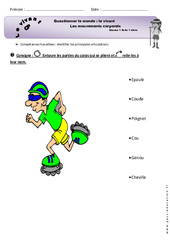 Mouvements corporels - Exercices