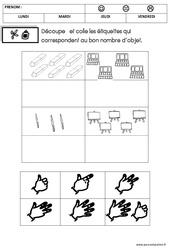 Mathématiques - Rentrée : 2eme Maternelle - Cycle Fondamental