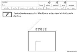 Graphisme - Rentrée : 2eme Maternelle - Cycle Fondamental