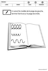 Graphisme - Rentrée : 3eme Maternelle - Cycle Fondamental