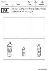 Mathématiques - Semaine du goût : 1ere Maternelle - Cycle Fondamental