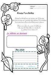 Aimée l'orchidée - 1 histoire 1 problème : 2eme Primaire