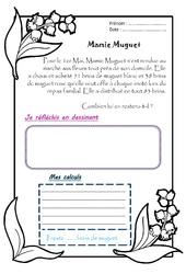 Mamie Muguet - 1 histoire 1 problème : 2eme Primaire