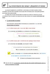 Concordance des temps - Cours - Anglais : 2eme Secondaire