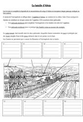 Bataille d'Alésia - Antiquité - Exercices - : 3eme Primaire