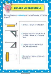 Tracer un triangle - Affiche : 1ere, 2eme Primaire