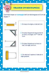 Tracer un triangle - Affiche : 3eme, 4eme, 5eme Primaire