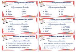 Les verbes - Rituels - La classe grammaticale : 2eme, 3eme Primaire