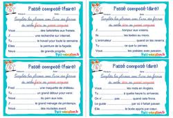Passé composé (faire et dire) - Rituels - Conjugaison : 2eme, 3eme Primaire