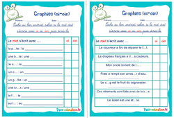 Graphies (oi - oin) - Rituels - Phonologie : 2eme, 3eme Primaire
