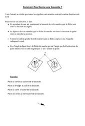Comment fonctionne une boussole - Cours, Leçon - Sciences : 3eme, 4eme Primaire