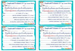 Impératif Présent ( groupes- Fiches avoir - être) - Rituels - Conjugaison : 4eme, 5eme Primaire
