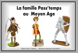 Moyen Âge - Diaporama, frise, généalogie... : 4eme Primaire