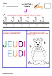 Cannes à l'envers - Fichier graphisme : 1ere, 2eme, 3eme Maternelle - Cycle Fondamental
