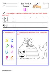 Ponts à l'envers - Fichier graphisme : 1ere, 2eme, 3eme Maternelle - Cycle Fondamental