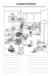 Les dangers de l'électricité - Cours, Leçon - Sciences : 3eme, 4eme, 5eme Primaire