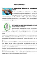 Dossier eco - citoyen - 2 : 4eme, 5eme Primaire