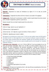 Respect du handicap et accessibilité - 1 image 1 débat - Les p'tits citoyens : 4eme, 5eme Primaire