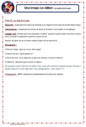Code de la route - 1 image 1 débat - Les p'tits citoyens : 4eme, 5eme Primaire