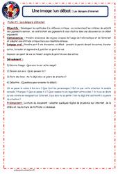 Dangers d'internet - 1 image 1 débat - Les p'tits citoyens : 4eme, 5eme Primaire