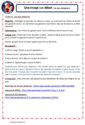 Jeux dangereux - 1 image 1 débat - Les p'tits citoyens : 4eme, 5eme Primaire