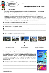 Quartiers - Exercices : 3eme Primaire