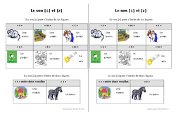 son [s] et [z] - Cours, Leçon : 2eme Primaire