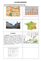 Les outils du géographe - Exercices : 3eme Primaire