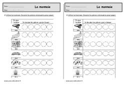 Monnaie - Euros - Exercices à imprimer : 2eme Primaire