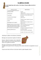 Le gâteau cravate - Fête des pères - Arts plastiques : 2eme, 3eme, 4eme, 5eme Primaire