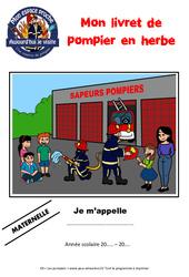 Les pompiers - Kit pédagogique - Mon espace proche : 1ere, 2eme, 3eme Primaire
