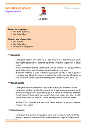 Plan - Fiche de préparation : 2eme Maternelle - Cycle Fondamental
