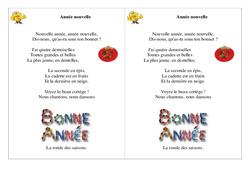 Année nouvelle - Poésie, poème - Nouvel an : 2eme Primaire