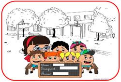 Affiche de porte - Trucs et astuces de classes - Outils pour la classe : 2eme, 3eme, 4eme, 5eme Primaire