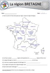 Bretagne - Je découvre ma région : 4eme, 5eme Primaire